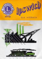 Ipswich lions club banner